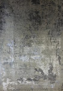 Design-Teppich modern, Wolle mit Bambusseide