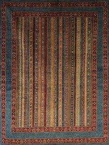 Shaal-Design, Wolle auf Baumwolle