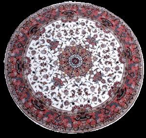 Täbriz, 50 Raj, extrafein, Korkwolle mit Seide